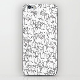 You like me? iPhone Skin
