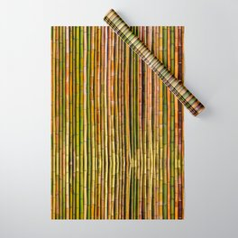 Bamboo fence, texture Wrapping Paper