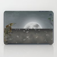 i want to believe iPad Cases featuring I Want To Believe by Conceptualized