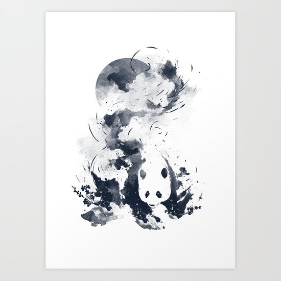 faded away Art Print
