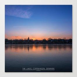 The Lakes, Copenhagen Canvas Print