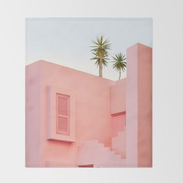 Muralla Roja Throw Blanket
