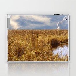 landscape 002: golden slumbers, big sky Laptop & iPad Skin
