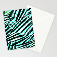 cyan confusion Stationery Cards