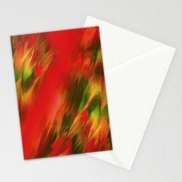Melting in red / Sciogliersi nel rosso Stationery Cards
