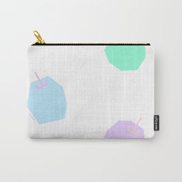 Words from Colorful Apples - fruits illustration Carry-All Pouch