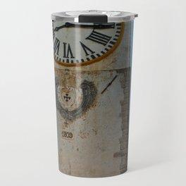 Old Church Clock Tower Travel Mug