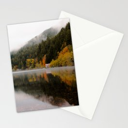 Lake Crescent in the Fall Stationery Cards