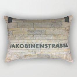 Nuremberg U-Bahn Memories - Jakobinenstrasse Rectangular Pillow