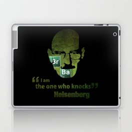 I am the one who knocks! Breaking Bad Laptop & iPad Skin