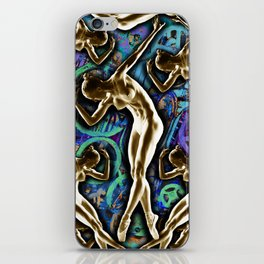 Woman In The Machine Frieze Color 2 iPhone Skin
