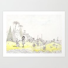 Grains of Fun Art Print