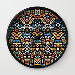 Pattern Number 12 Wall Clock