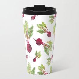 Feel the Beet in Radish White Travel Mug