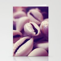 shells Stationery Cards featuring Shells by Rafael&Arty