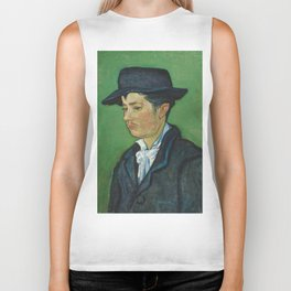 Portrait of Armand Roulin by Vincent van Gogh Biker Tank