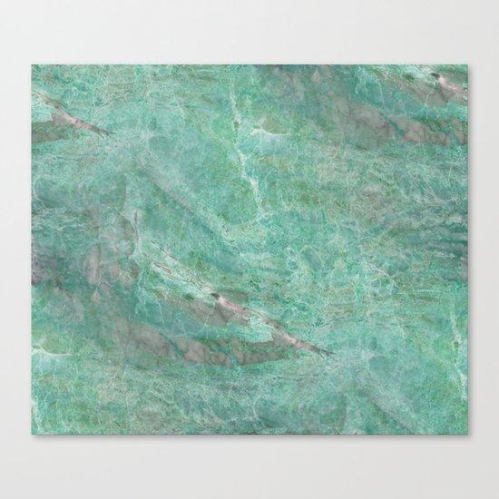 Alfetta verde - turquoise stone Canvas Print