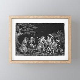 Danse Macabre Framed Mini Art Print