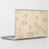 it crowd Laptop & iPad Skins featuring Crowd by Lera Sxemka
