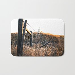 Fence in Color Bath Mat