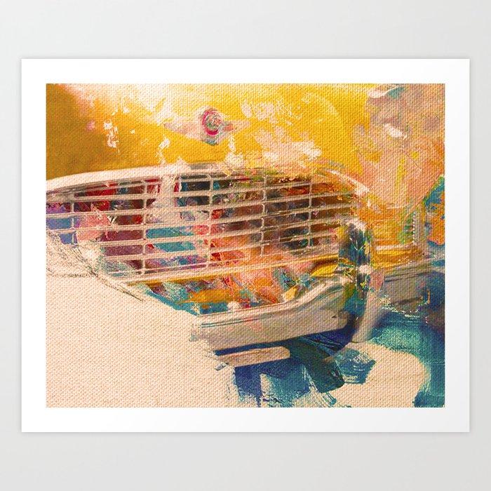 Car Wash 1 Art Print