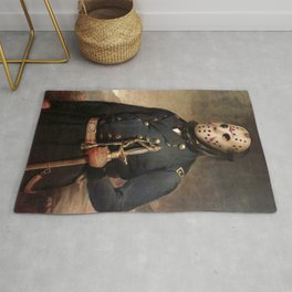 Jason Voorhees Friday The 13th Rug