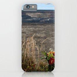 offering for volcano goddess Pele iPhone Case