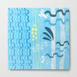 Water rays Metal Print