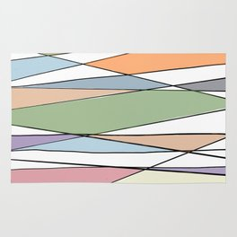 Intersecting Lines Rug