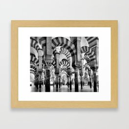 The Great Mosque of Cordoba Framed Art Print