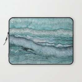 Mystic Stone Aqua Teal Laptop Sleeve