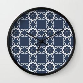 Flowers of Joy Wall Clock