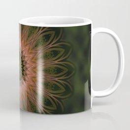 Mandala Lace Shape Nature Colors Coffee Mug