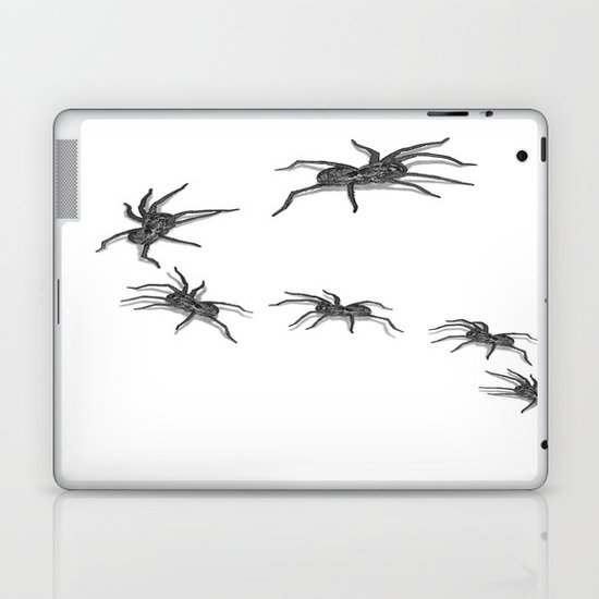 Wolf Spiders Laptop & iPad Skin