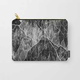 The Lone peaks of the moon Carry-All Pouch