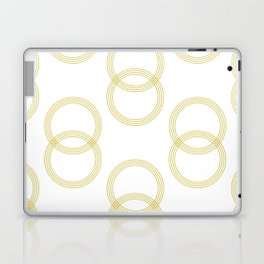 Simply Infinity Link Mod Yellow and White Laptop & iPad Skin