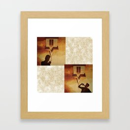 Cassidy and Preacher prints - Sold!  Framed Art Print