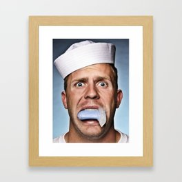 Sailor Sailor Framed Art Print