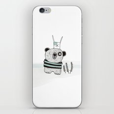 Mini bear&rabbit iPhone & iPod Skin