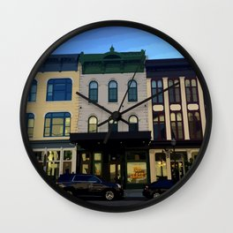 Downtown Kalamazoo E Michigan Wall Clock