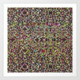Raisin Explosion Art Print