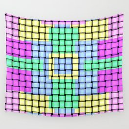 Beautiful Pastel Weave Texture Wall Tapestry