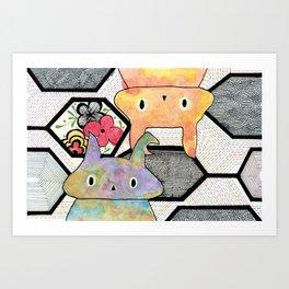 sebastian +tiffany Art Print