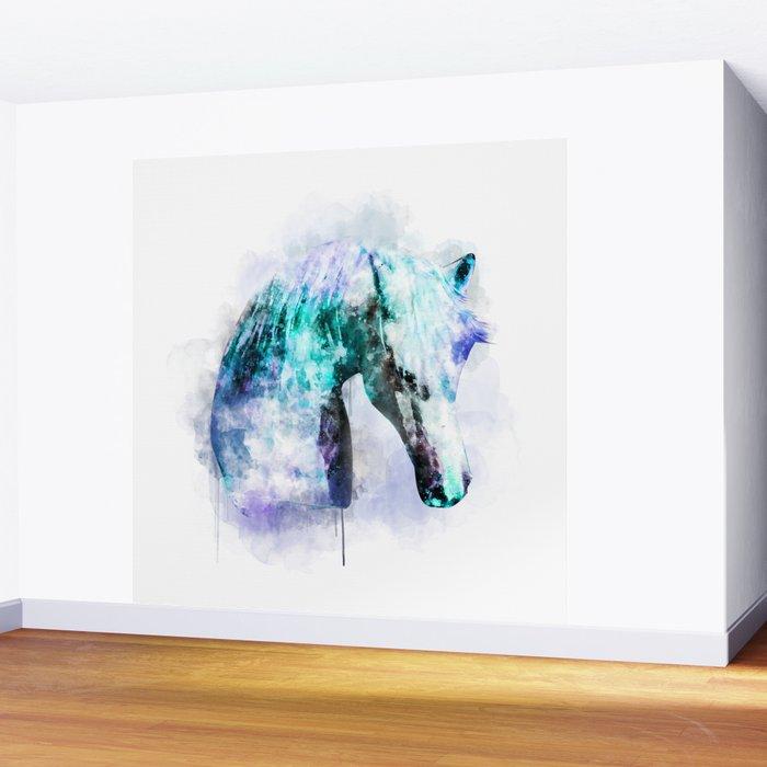 Horse Watercolor Horse Print Watercolor Print Watercolor Animal Horse Painting Horse Gift Print Wall Mural
