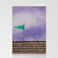 flag Stationery Cards featuring Flag by Maite Pons