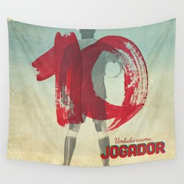 Color Soccer Wall Tapestry