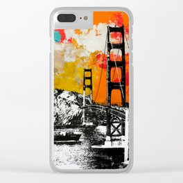 Entering the Golden Gate Clear iPhone Case
