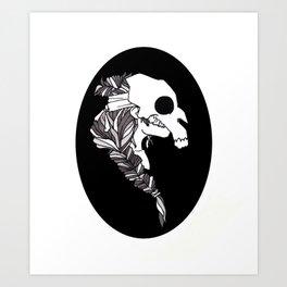 Witch Cameo II Art Print