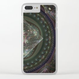 Center Squared by Knightengale Clear iPhone Case