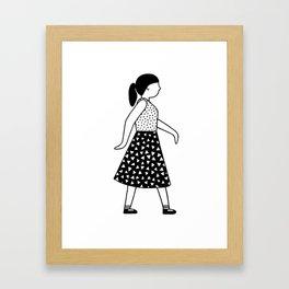 Gerd Girl 2 Framed Art Print